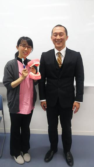西川先生と2ショット写真