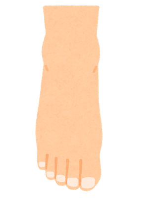 足首の異常で膝の痛み