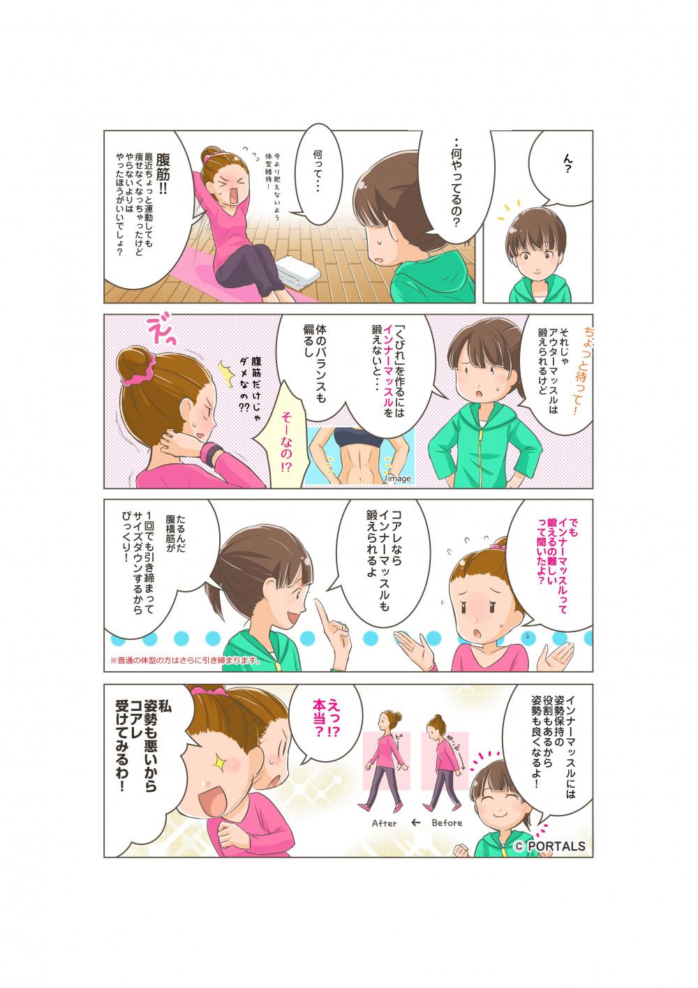 シェイプアップ編